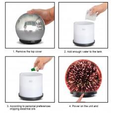 AEROMA Therapy Difuzor Magic Efect 3D